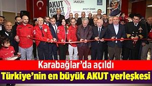 Türkiye'nin en büyük AKUT yerleşkesi Karabağlar'da açıldı