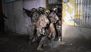 500 polisle şafakta uyuşturucu operasyonu