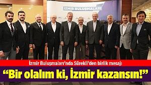 """AK Parti İl Başkanı Kerem Ali Sürekli; """"Bir olalım ki, İzmir kazansın!"""""""