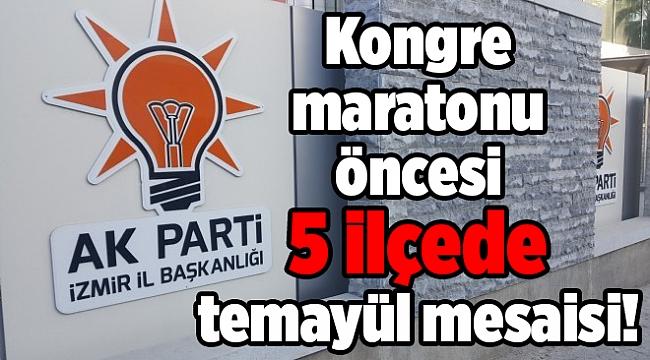 AK Parti İzmir'de 5 ilçede temayül mesaisi!