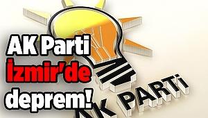 AK Parti İzmir'de deprem! İlçe kadın kolları başkanı istifa etti