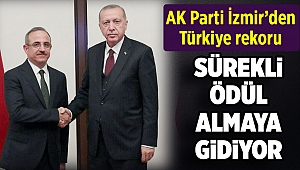 AK Parti İzmir'den Türkiye rekoru