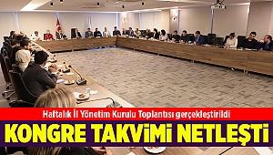 AK Parti İzmir'in ilçe kongreleri belli oldu