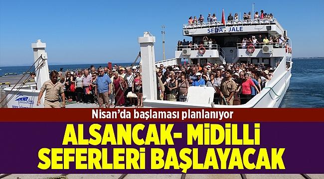 Alsancak-Midilli gemi seferleri Nisan'da başlıyor...