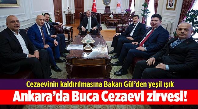 Ankara'da Buca Cezaevi zirvesi!
