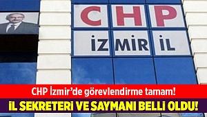 CHP İzmir'de il sekreteri ve il saymanı belli oldu