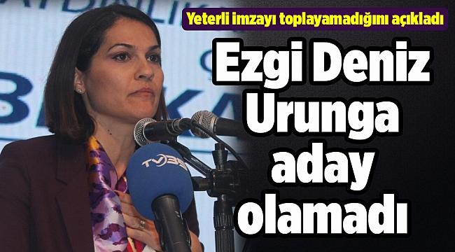 CHP İzmir İl Kongresi'nde Ezgi Deniz Urunga aday olamadı
