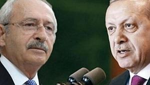 Erdoğan'dan Kılıçdaroğlu'na 500 bin liralık dava!