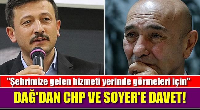 Erdoğan'dan sonra Dağ'dan CHP'ye otoyol daveti