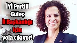 İYİ Partili Güleç İl Başkanlığı için yola çıkıyor!