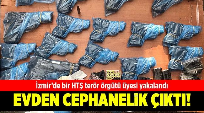İzmir'de bir HTŞ terör örgütü üyesi yakalandı