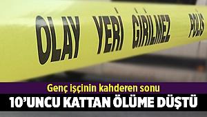 İzmir'de İnşaattan Düşen İşçi Öldü