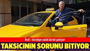 İzmir'de taksilerde kısa mesafe sorunu kalkıyor... Sabit ücret geliyor...