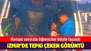 İzmir'de tepki çeken öğrenci taşımacılığı