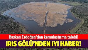 Karaburun'daki İris Gölü'nden iyi haber!