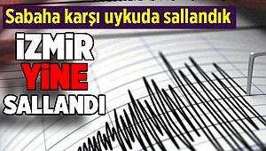 Manisa ve İzmir'de deprem... İşte şiddeti ve merkez üssü...