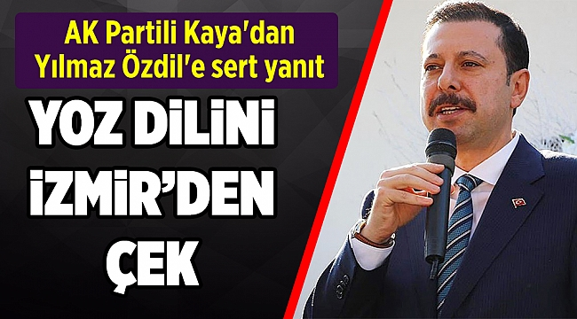 AK Partili Kaya'dan Yılmaz Özdil'e sert yanıt