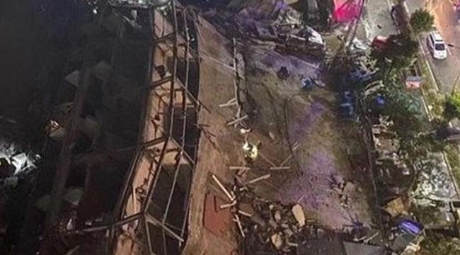 Çin'de karantina oteli çöktü: 70 kişi enkaz altında!