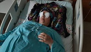 Hastanede Oda Arkadaşı Gözlerini Oydu...
