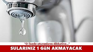 İzmir'de su kesintisi