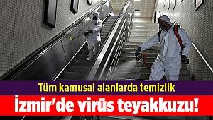 İzmir'de virüs teyakkuzu!