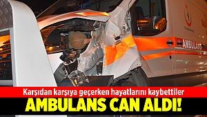Karabağlar'da ambulans yayalara çarptı: 2 ölü