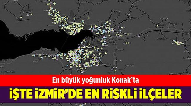 Corona virüs salgınında İstanbul, Ankara ve İzmir'de en riskli ilçeler