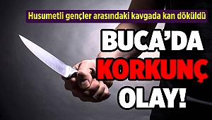 İzmir'de korkunç olay! Husumetli gençler arasındaki kavgada kan döküldü