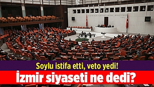 Soylu istifa etti, veto yedi! İzmir siyaseti ne dedi?