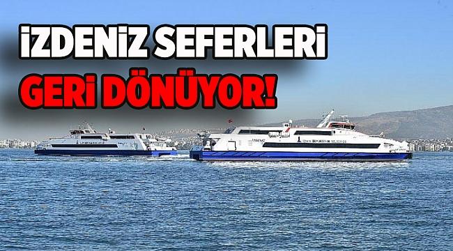 İzmir'de gemi seferleri artıyor