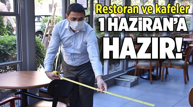 İzmir'de kafe ve restoranlar 1 Haziran'a hazır!
