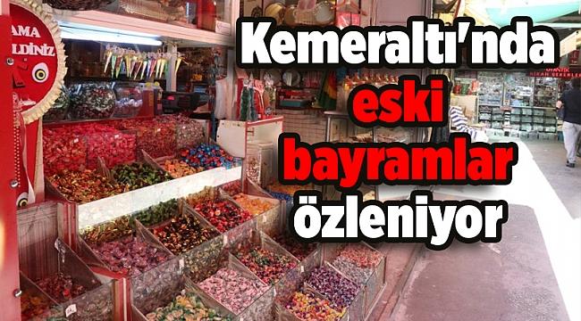 İzmir'in tarihi çarşısı Kemeraltı'nda eski bayramlar özleniyor