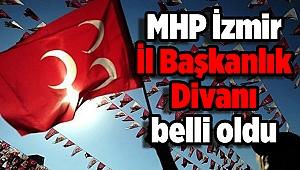 MHP İzmir İl Başkanlık Divanı belli oldu