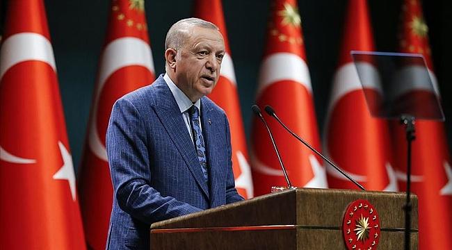Kabine toplantısı sonrası Erdoğan'dan açıklamalar!