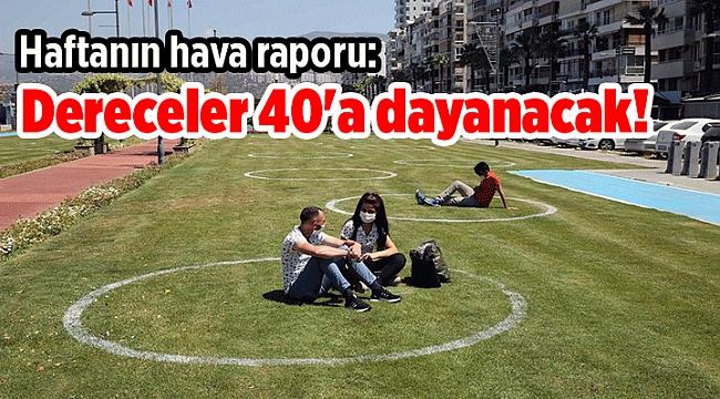 Haftanın hava raporu: Dereceler 40'a dayanacak!