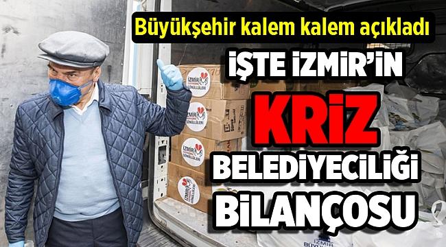 İşte İzmir'in 'kriz belediyeciliği' bilançosu