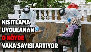 İzmir'de kısıtlama uygulanan köyde vaka sayısı artıyor!