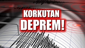 Manisa'da 5.5 büyüklüğünde deprem meydana geldi
