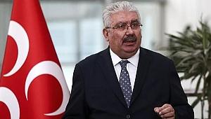 MHP'li Yalçın'dan olay 'Ayasofya' çıkışı: Fetih ve kılıç hakkıdır