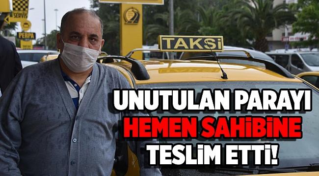 Unutulan 60 bin lirayı teslim eden taksiciye 31 lira bahşiş!