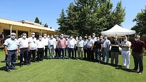 Başkan Erhan Kılıç esnafın taleplerini dinledi