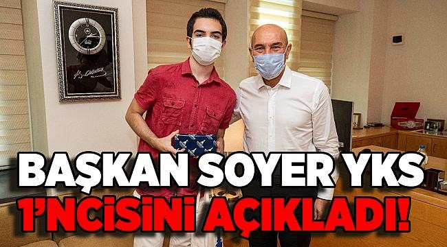 Başkan Soyer YKS Türkiye birincisini ağırladı