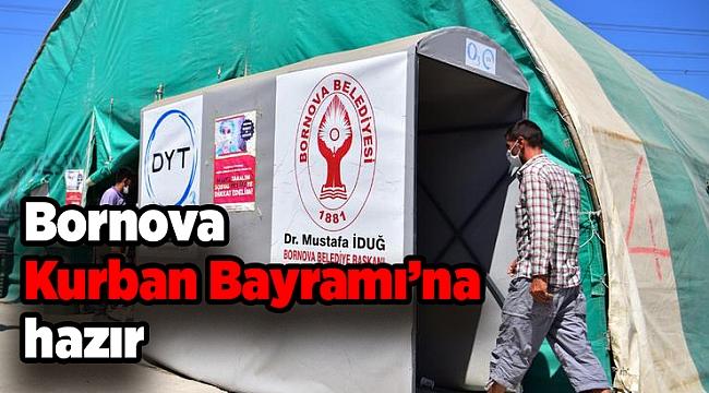 Bornova Kurban Bayramı'na hazır