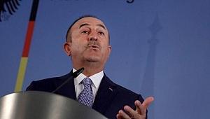 Çavuşoğlu'ndan çok sert mesaj: Hafter gitmeli