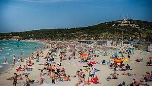 Çeşme Ilıca Plajı Mavi Bayrak asıyor!