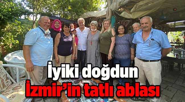 İyiki doğdun İzmir'in tatlı ablası