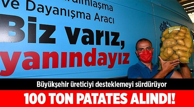 İzmir Büyükşehir üreticiyi desteklemeyi sürdürüyor