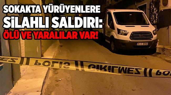 İzmir'de kanlı pusu: 1 ölü, 2 yaralı!