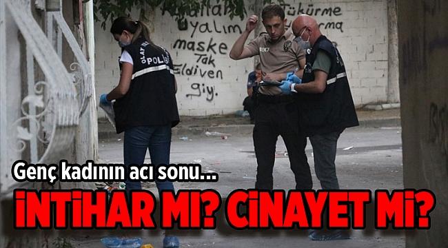 İzmir'in Konak ilçesinde bıçakla yaralanmış halde kadın bulundu!