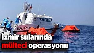 İzmir sularında mülteci operasyonu